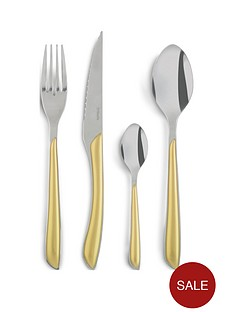 amefa-eclat-metallics-24-piece-cutlery-set-ndash-gold