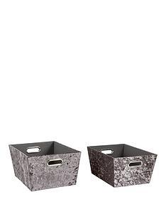 set-of-2-crushed-velvet-storage-baskets