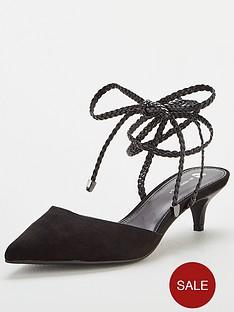 v-by-very-cally-kitten-heel-ankle-tie-mule-black
