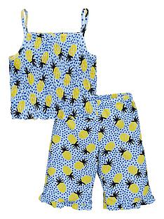 mini-v-by-very-girls-pineapple-print-shirred-top-amp-culottes-outfit-multi