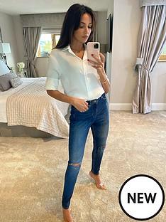 michelle-keegan-premium-skinny-distressed-jeans-blue
