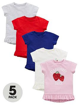 mini-v-by-very-girls-5-pack-frill-edge-t-shirts-multi
