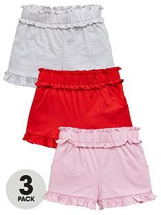 mini-v-by-very-girls-3-pack-shirred-waist-shorts-multi