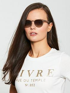 ray-ban-irregular-shiny-opal-sunglasses-brown