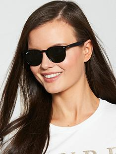 ray-ban-irregular-oval-thick-rim-sunglasses-black