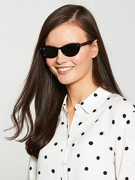 3d440075c89a Ray-Ban Nina Cateye Thick Tinted Lens Sunglasses | littlewoodsireland.ie