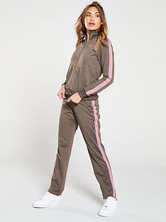 uk availability ed562 90038 Nike Sportswear Tracksuit - Grey Brown