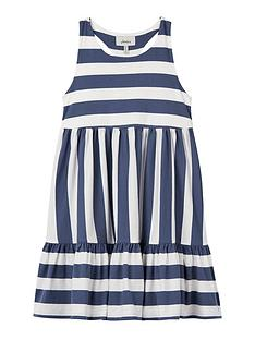 joules-girls-juno-lobster-stripe-drop-hem-dress