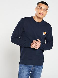 ellesse-diveria-crew-neck-sweat-dress-blues