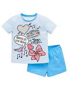 jojo-siwa-girls-shorty-pyjamas-blue