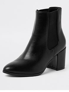 river-island-wide-fit-ankle-boot-black
