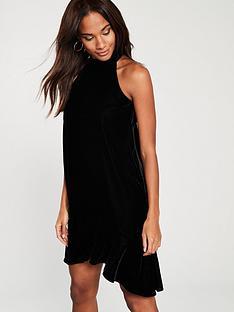 river-island-velvet-swing-dress-black