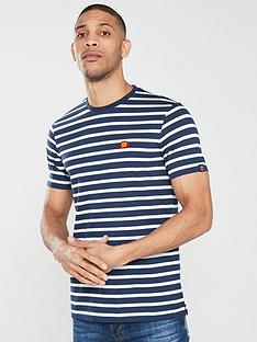 5681452cb87942 Ellesse Sailo Striped T-shirt