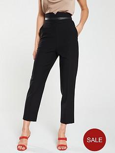 karen-millen-high-waist-trousers-black