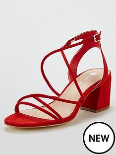 de11b2227b20 V by Very Gwen Strappy Heeled Sandal