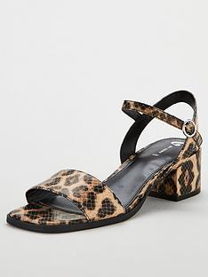 Leopard Midi Heels