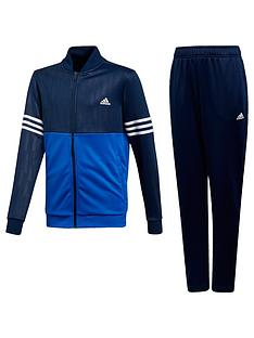 b8713399108e adidas Boys Training Tracksuit