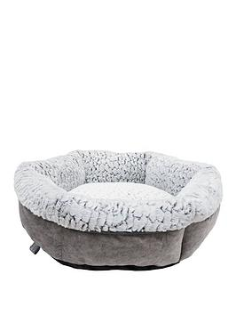 rosewood-luxury-fleece-lined-plush-pet-bed-61cm