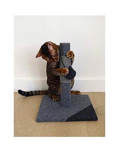 rosewood-charcoal-felt-cat-post