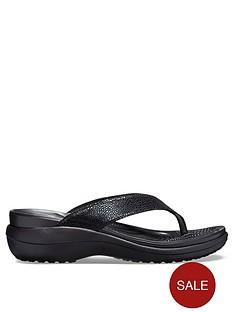 crocs-capri-metallic-flip-flop
