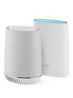 netgear-netgear-orbi-mesh-wifi-system-with-orbi-voice-wifi-satellite-smart-speaker-amazon-alexa-built-in-rbk50v