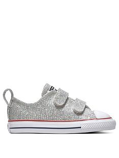 a35ce81b1cf Converse Converse Chuck Taylor All Star Glitter 2V Infant Ox