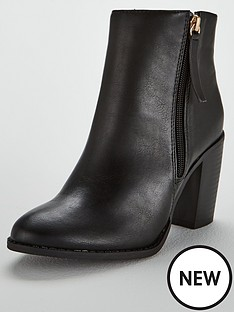 oasis-millie-high-ankle-boots-black