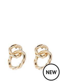 river-island-twisted-earrings-gold
