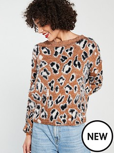 river-island-river-island-leopard-print-jumper-brown