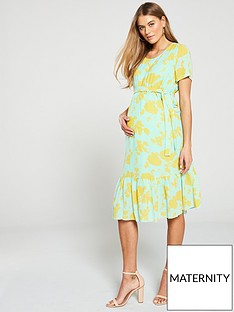c3ecf9fa90 Mama-Licious Mamalicious Maternity Mayse Woven Dress