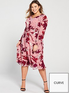 junarose-curve-allia-floral-midi-dress
