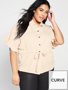 junarose-curve-alwia-tie-waist-blouse