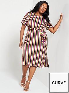 junarose-curve-harfun-stripe-dress