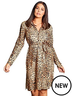 sistaglam-loves-jessica-tie-waist-shirt-dress-animal-print