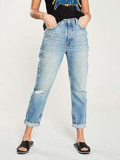 v-by-very-high-waist-vintage-mom-jeannbsp--mid-wash