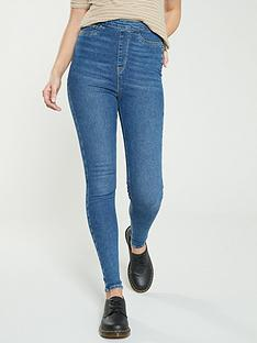 v-by-very-charley-side-zip-skinny-mid-wash