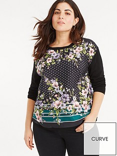 oasis-curve-oasis-curve-maddison-placement-woven-front-jumper