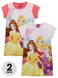 disney-princess-girls-2-pack-nightiesnbsp--multi