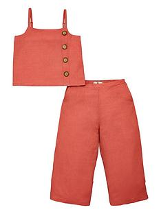 v-by-very-girls-linen-co-ord-with-buttons-pink