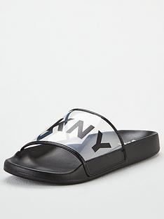 dkny-zelena-sliders-black
