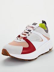 quality design e5bdf 41499 hugo-horizon-trainers-red-multi