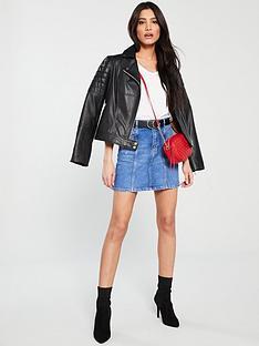 v-by-very-seam-detail-denim-skirt-bright-blue
