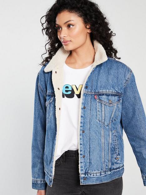 levis-ex-boyfriendnbspsherpa-trucker-denim-jacket