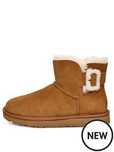 ugg-mini-bailey-fluff-buckle-boot