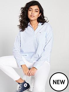 tommy-jeans-cropped-boxy-shirt-stripe