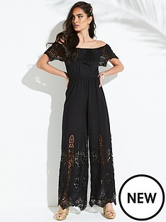 v-by-very-embroidered-cutworknbspbardot-jumpsuit-black