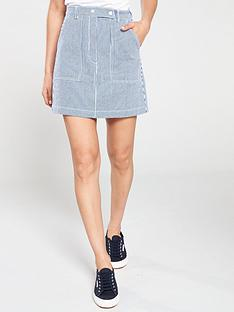 tommy-jeans-striped-carpenter-skirt-blue