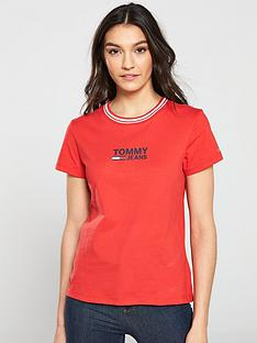 tommy-jeans-rib-neck-logo-t-shirt-red