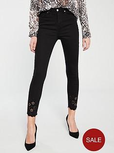 v-by-very-ella-laser-cut-hem-skinny-jeans-black