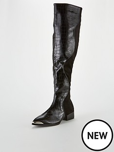 lost-ink-nikita-flat-snake-mix-otk-boot